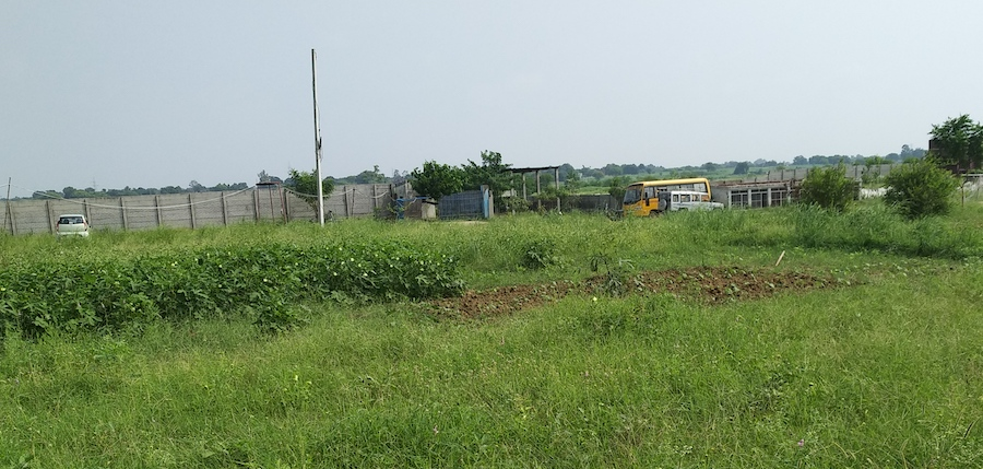 Building site for Asha Sadan Home for Special Girls