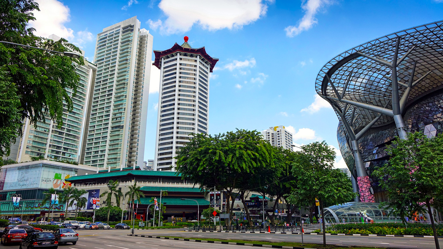 Orchard Road is Singapore's main shopping street.   Image:   Jason Goh