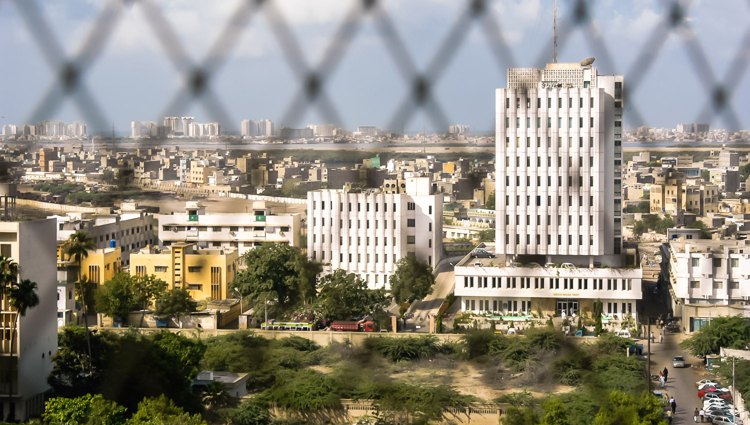 Karachi: one of the least safe cities in Asia. Image:   © David Astley