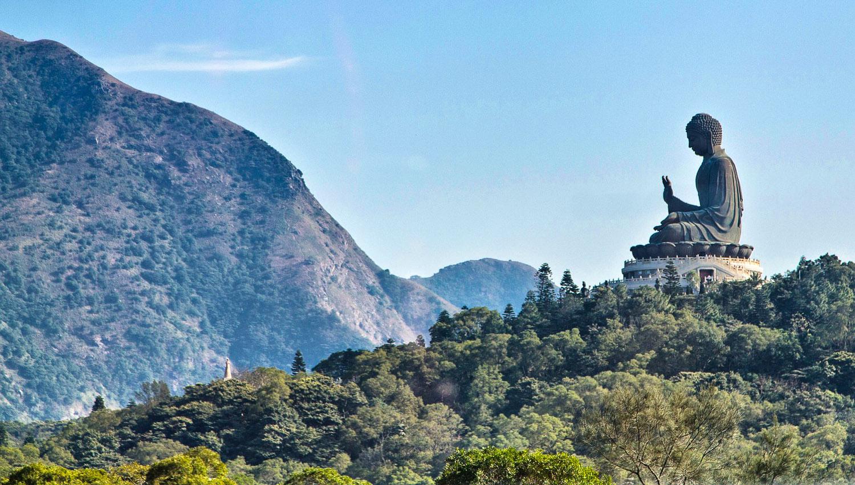 The Big Buddha on Lantau Island. Image:   Steve Webb