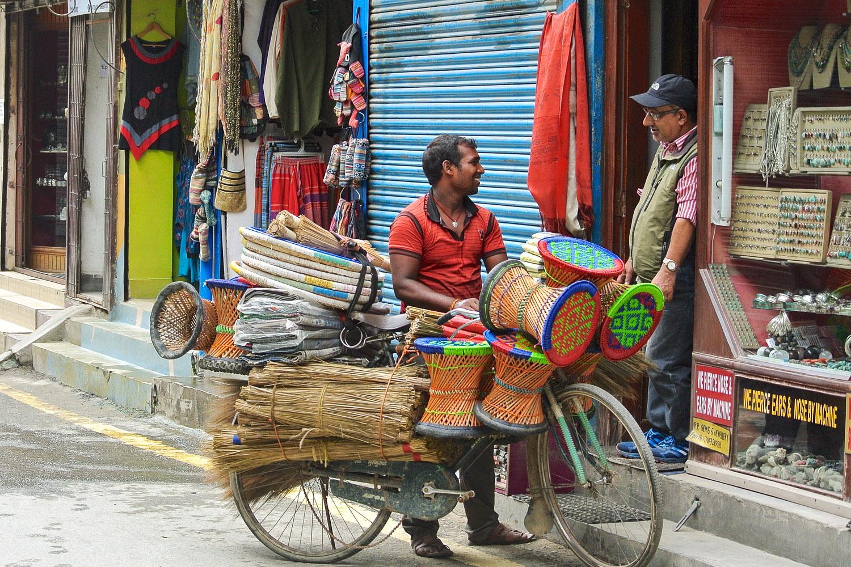 Friendly locals in Thamel, Kathmandu. Image:    Lorri Frandsen