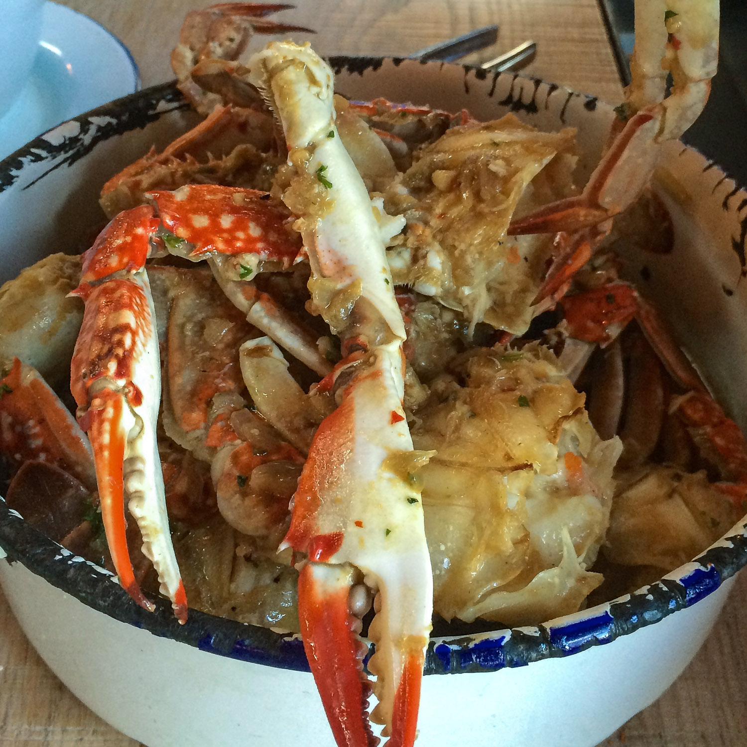 Chilli crab is always popular with travellers.     Image:    © Nannette Holliday