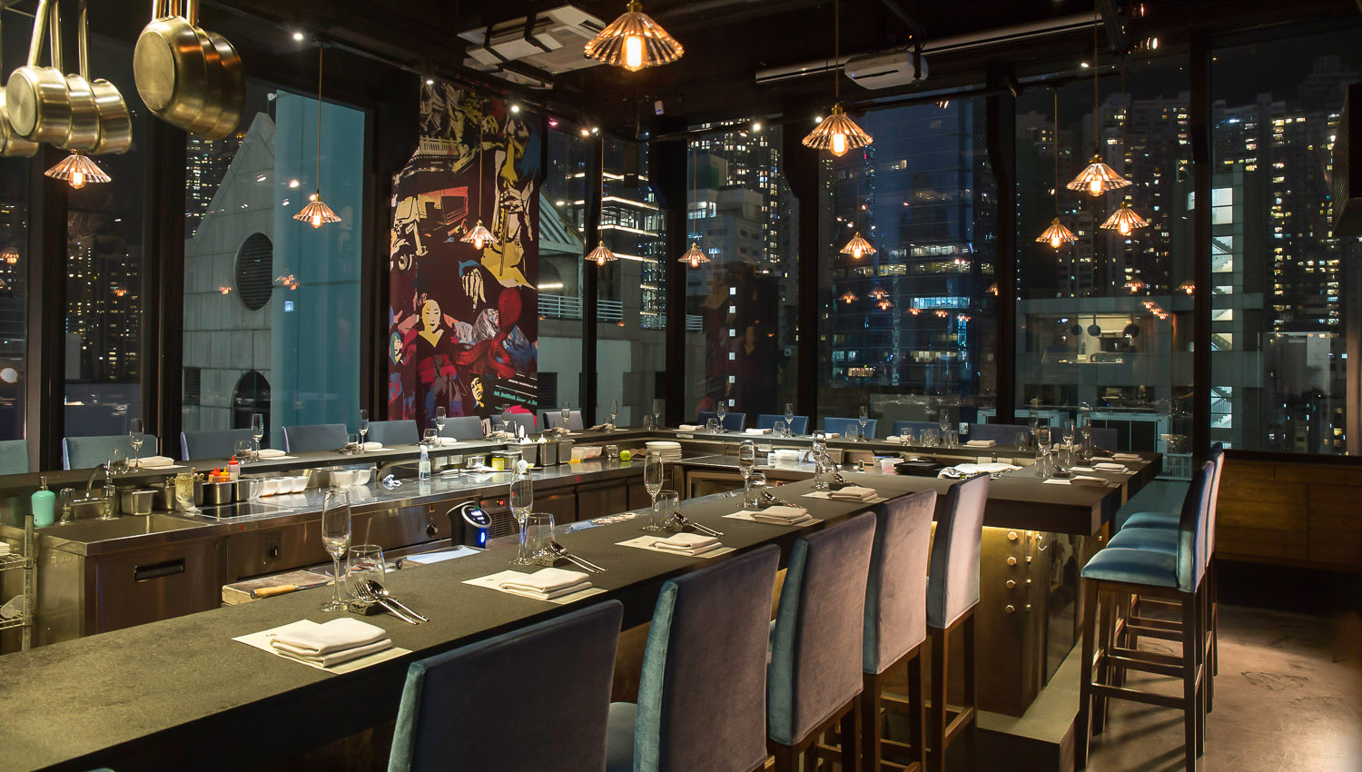 There are many fine dining restaurants in Hong Kong. Image:     MIC Kitchen