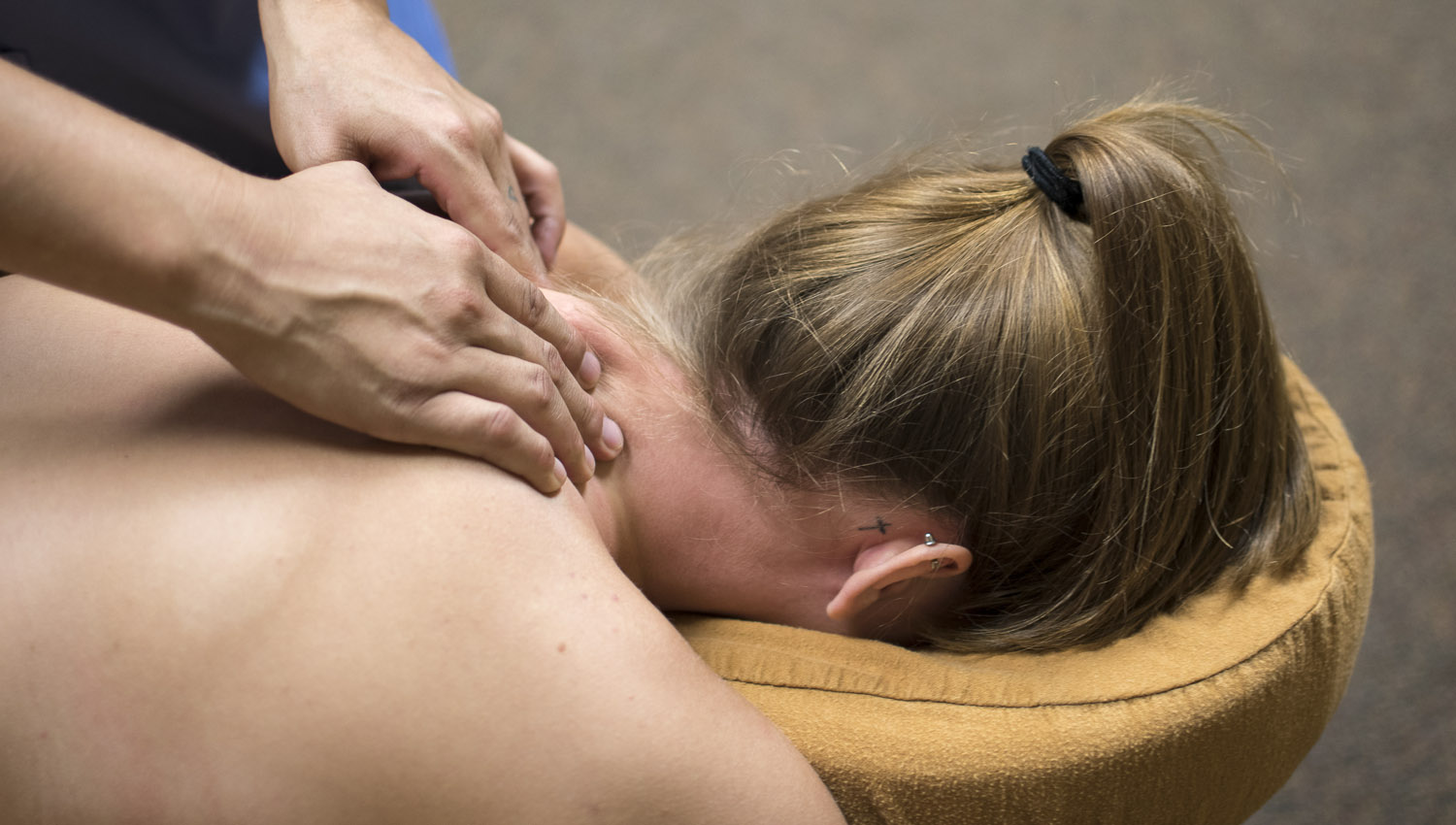 The treatments include many different massages. Image:     Ryan Hoyme