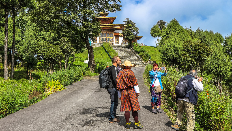 All visitors to Bhutan are accompanied a guide. Image:     Ipek Morel Diplikaya      Dreamstime