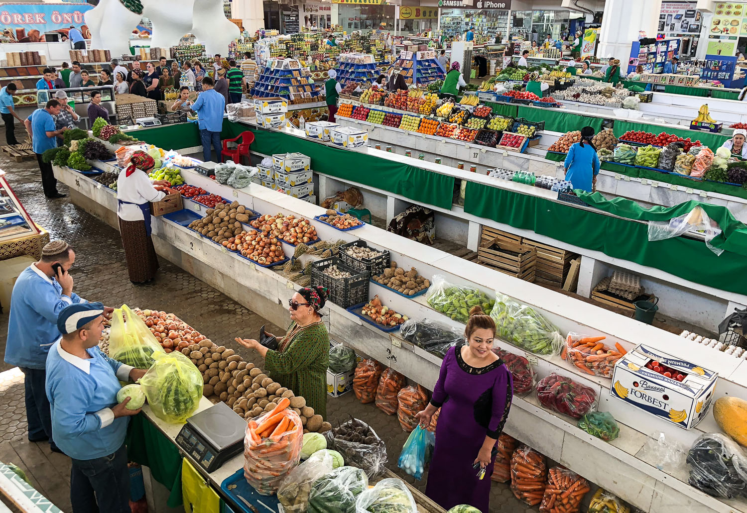 Ashgabat's Russian Market. Image:  © Alan Williams