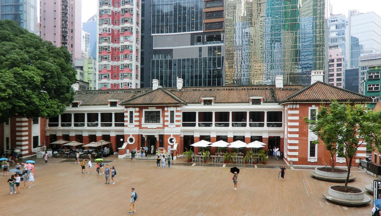 The Tai Kwun Centre's main courtyard. Image:  ©    Wei Kong Chang    | Dreamstime