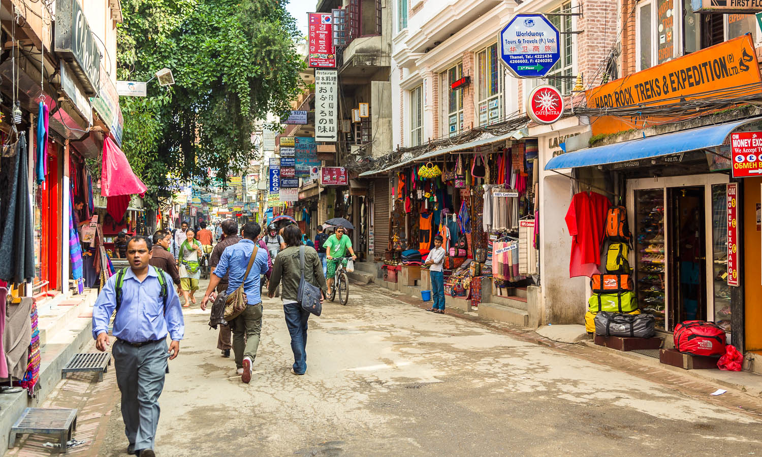 Much of Thamel is now traffic-free. Image:  T   omasz Wozniak