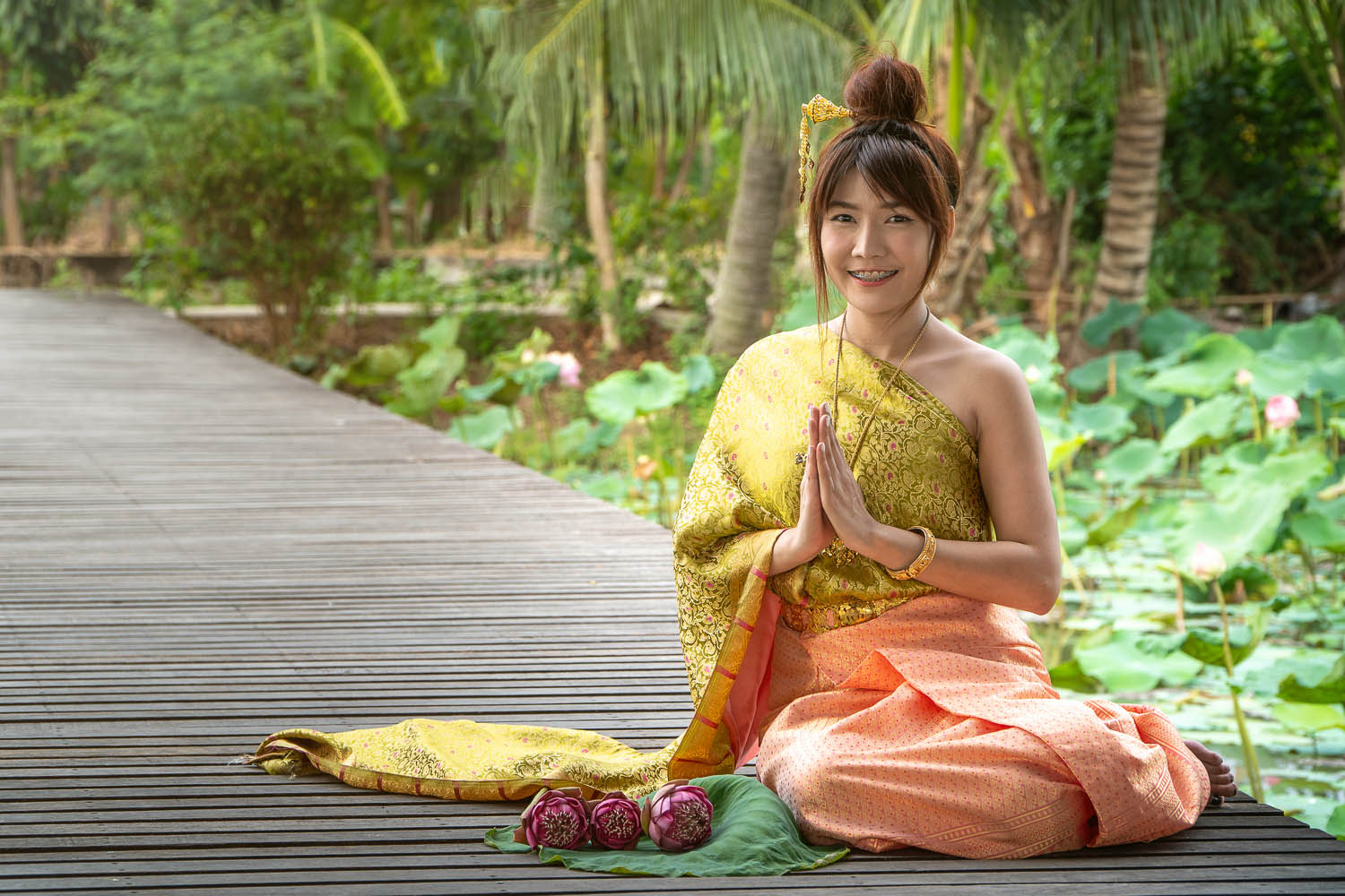 Thailand is known as the 'Land of Smiles'. Image:     Prot Tachapanit