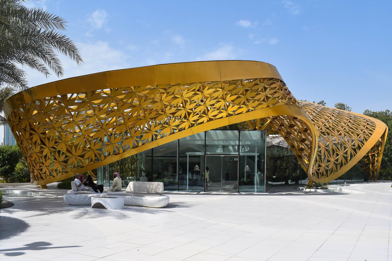 An impressive sculpture at Al Noor Island. Image:  Ambica Gulati