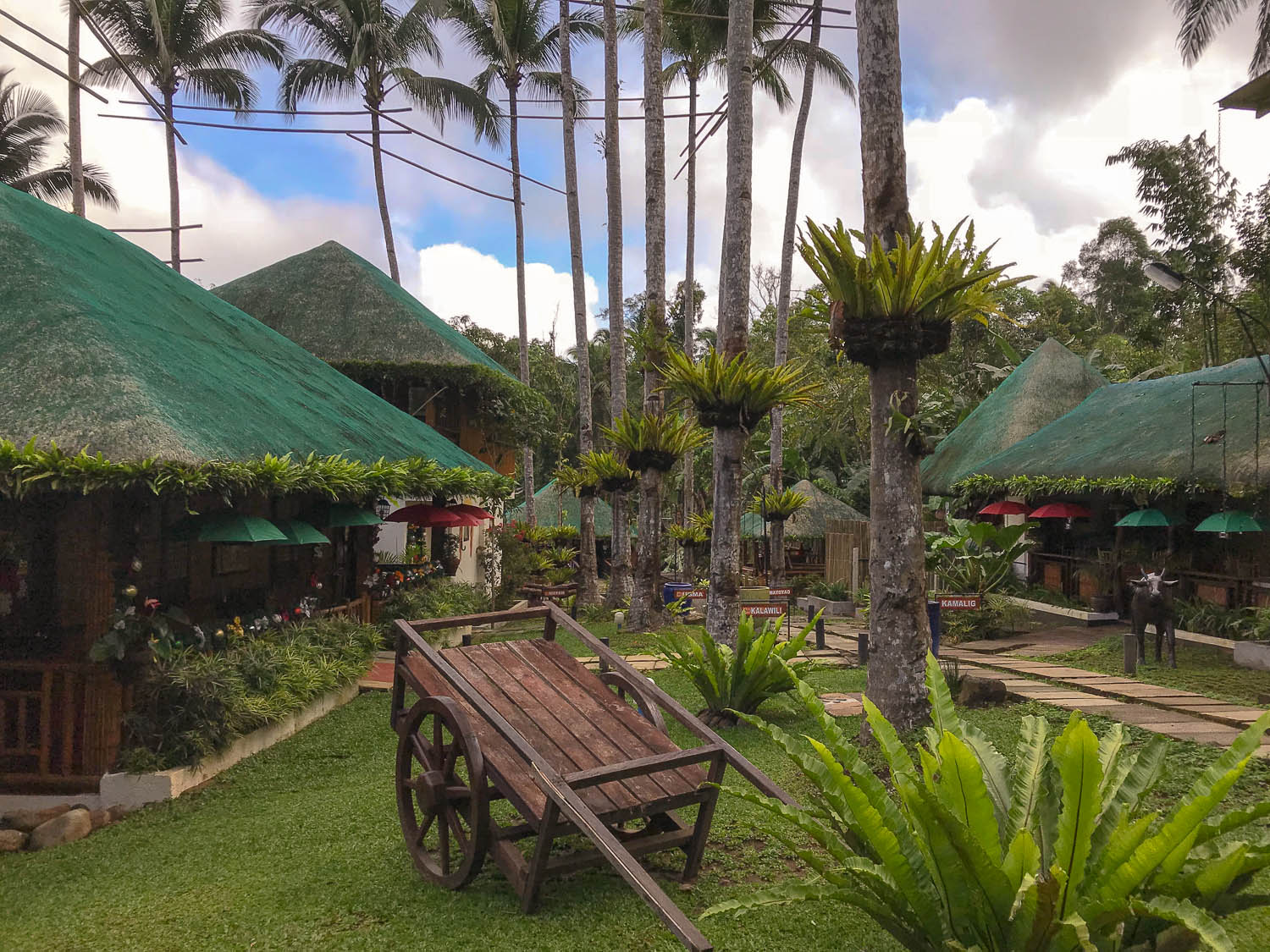 The Samkara Garden Resort near Lucban. Image: © David Astley