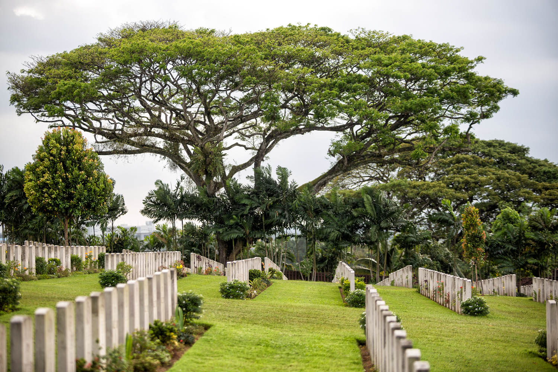 The Kranji War Cemetery in Singapore. Image:  © Steve Lovegrove