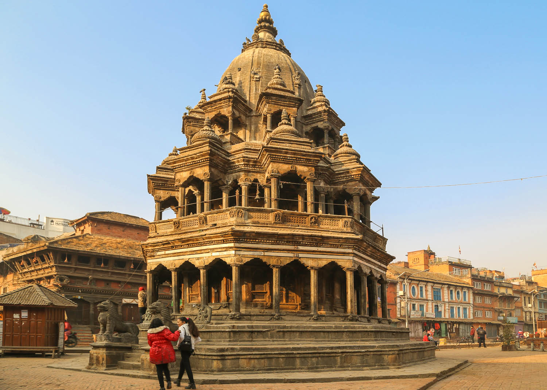 The Krishna Temple in Patan Durbar Square. Image:  © Alan Williams