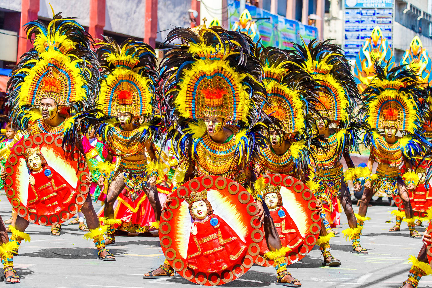 Street dancers at a festival in the Philippines. Image:  © Elena Frolova