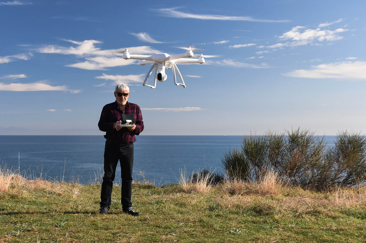 Older travellers are now using camera drones as well. Image:  © Dimitrina Lavchieva