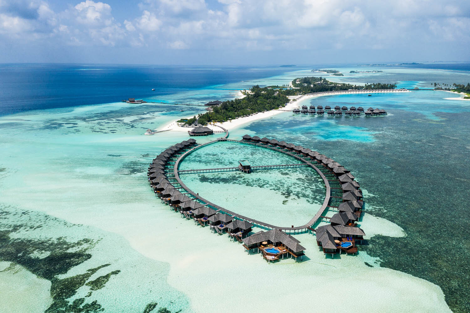 Many resorts in the Maldives restrict drone photography. Image:  © Nicholas Courtney