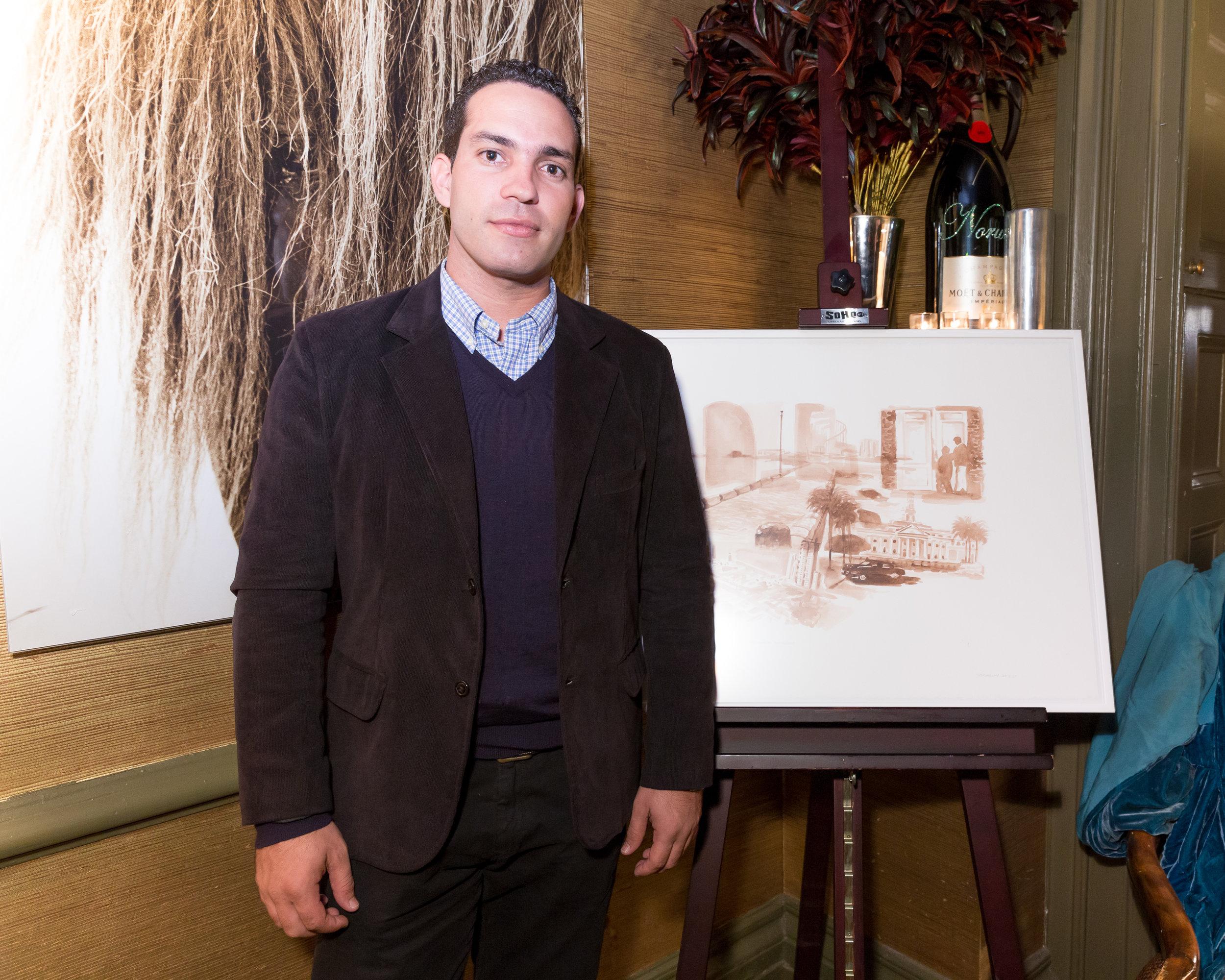 Cuban artist, Duniesky Martín
