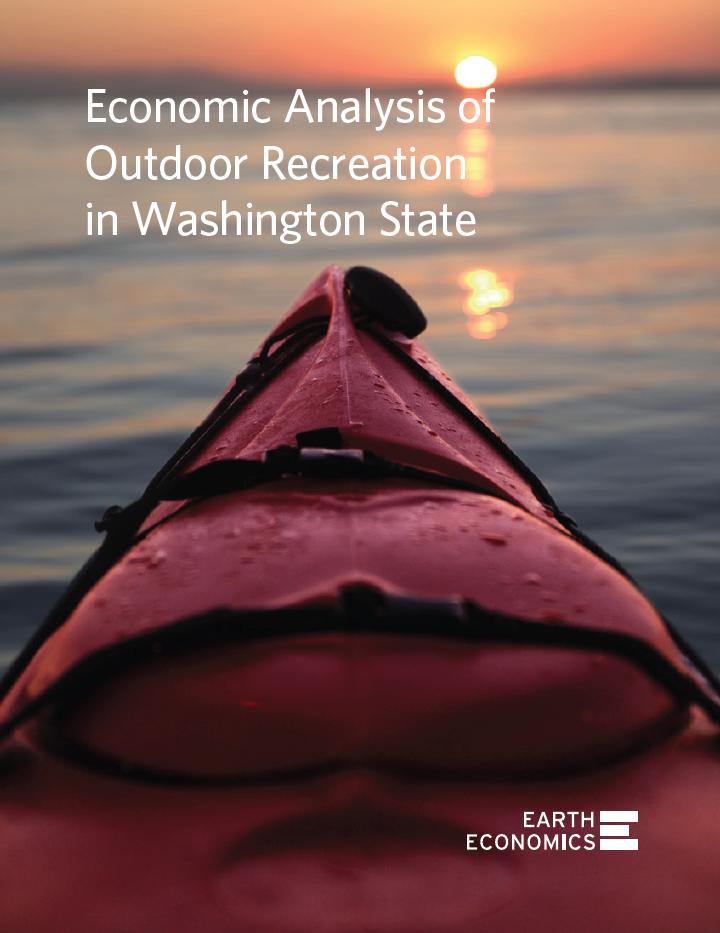 Economic Analysis of Outdoor Recreation in Washington State