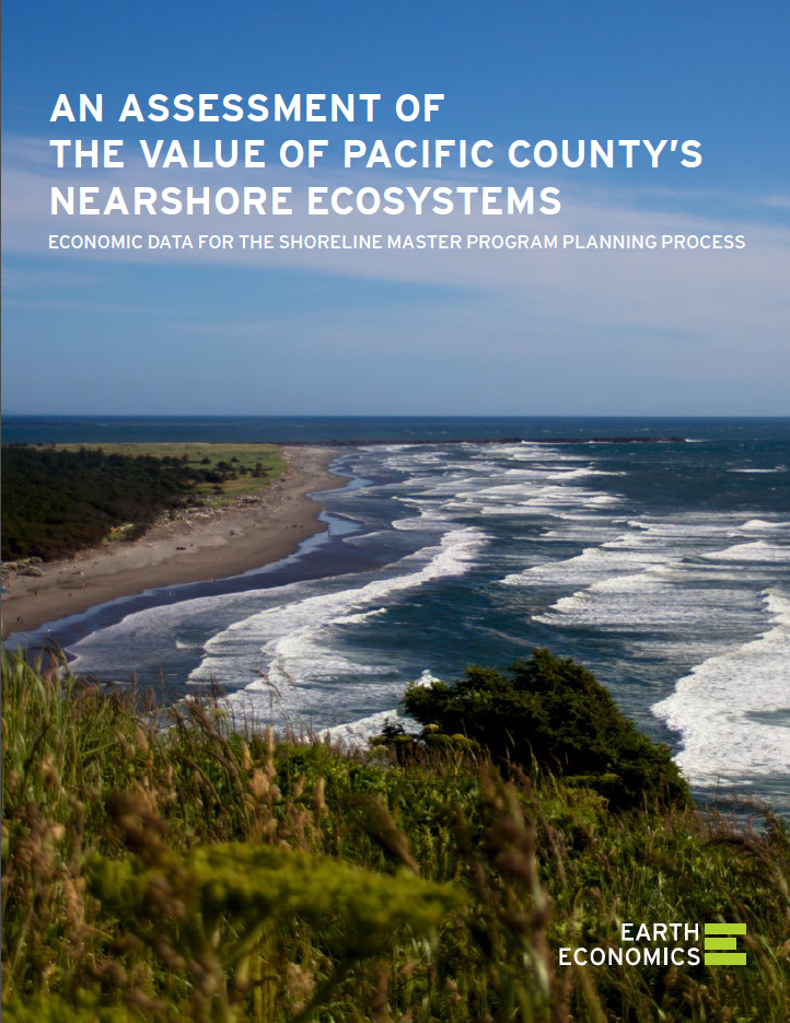 An Assessment of the Value of Pacific County's Nearshore Ecosystems