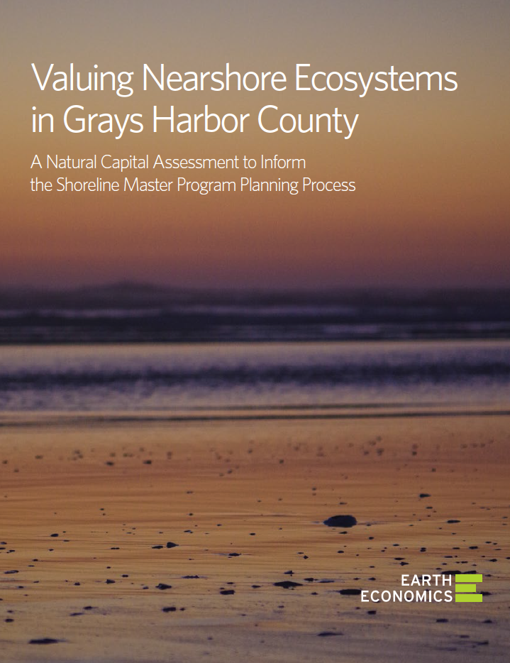 Valuing Nearshore Ecosystems in Grays Harbor County