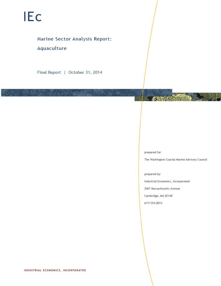 Marine Sector Analysis Report: Aquaculture