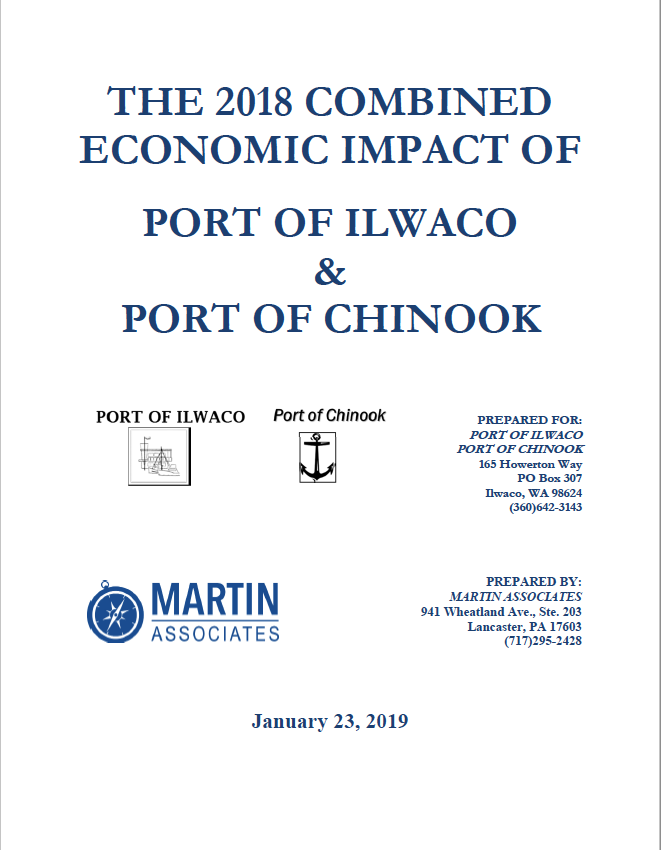 The 2018 Combined Economic Impact of Port of Ilwaco and Port of Chinook