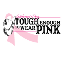 Cattlemens Days Tough Enough to Wear Pink Logo