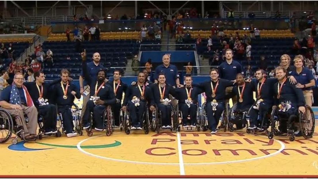 Winning Gold - USE Men's Wheelchair Basketball Team