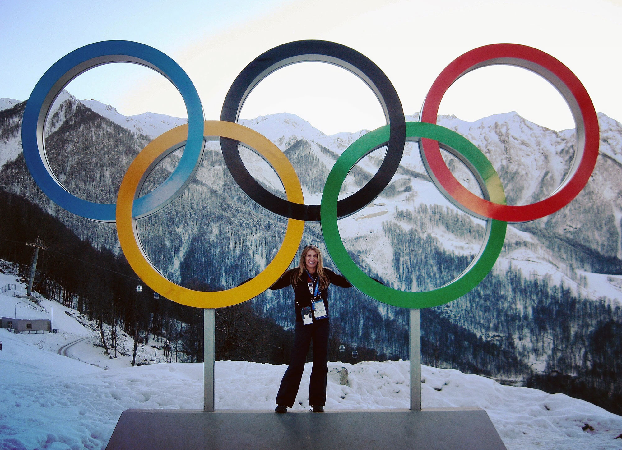 Gloria Beim Winter Olympics