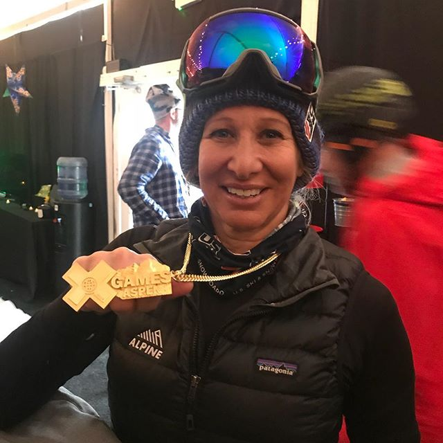 First Knuckle Huck medal at X Games!