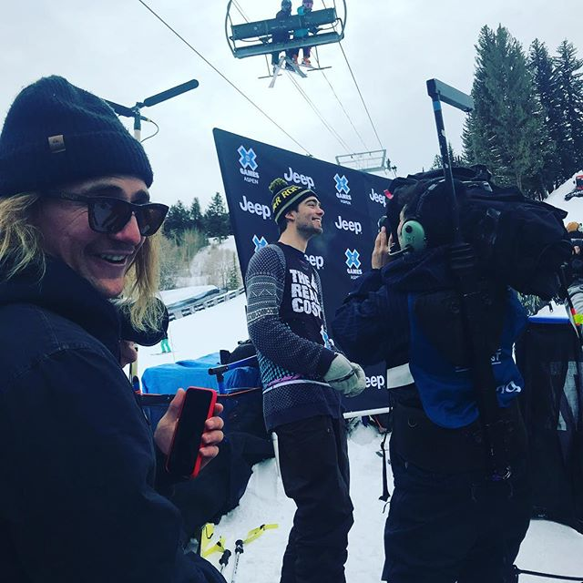 Congratulations to Alex Hall for X Games GOLD in Slopestyle!!!!