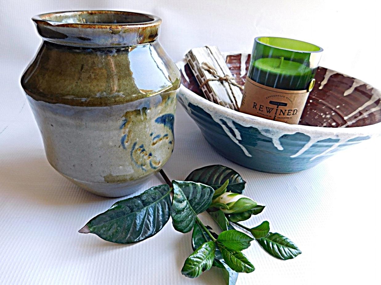 Handmade pottery - beautiful yet practical works of art -