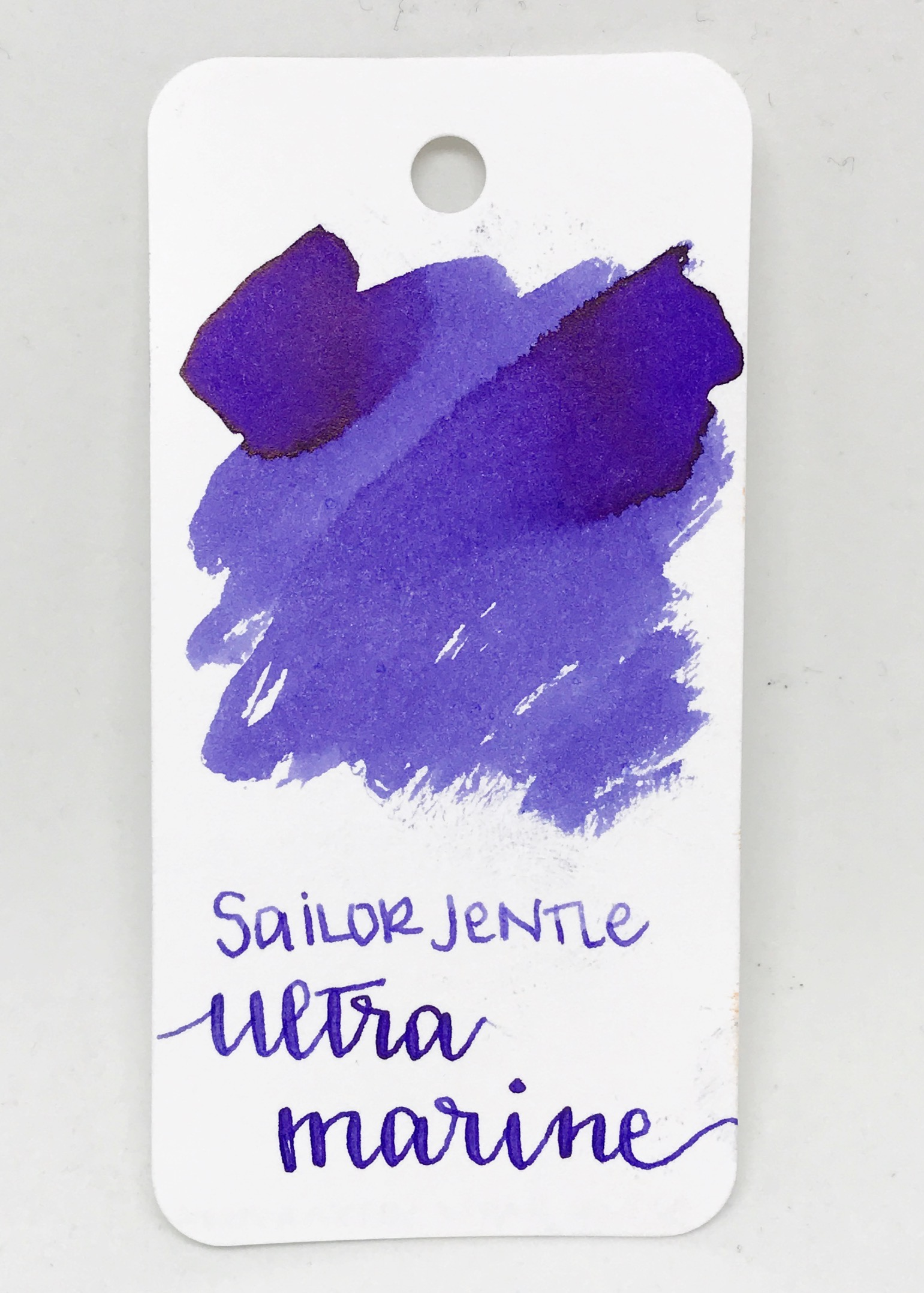 The color: - Ultramarine is a gorgeous purple, with a rose gold sheen.