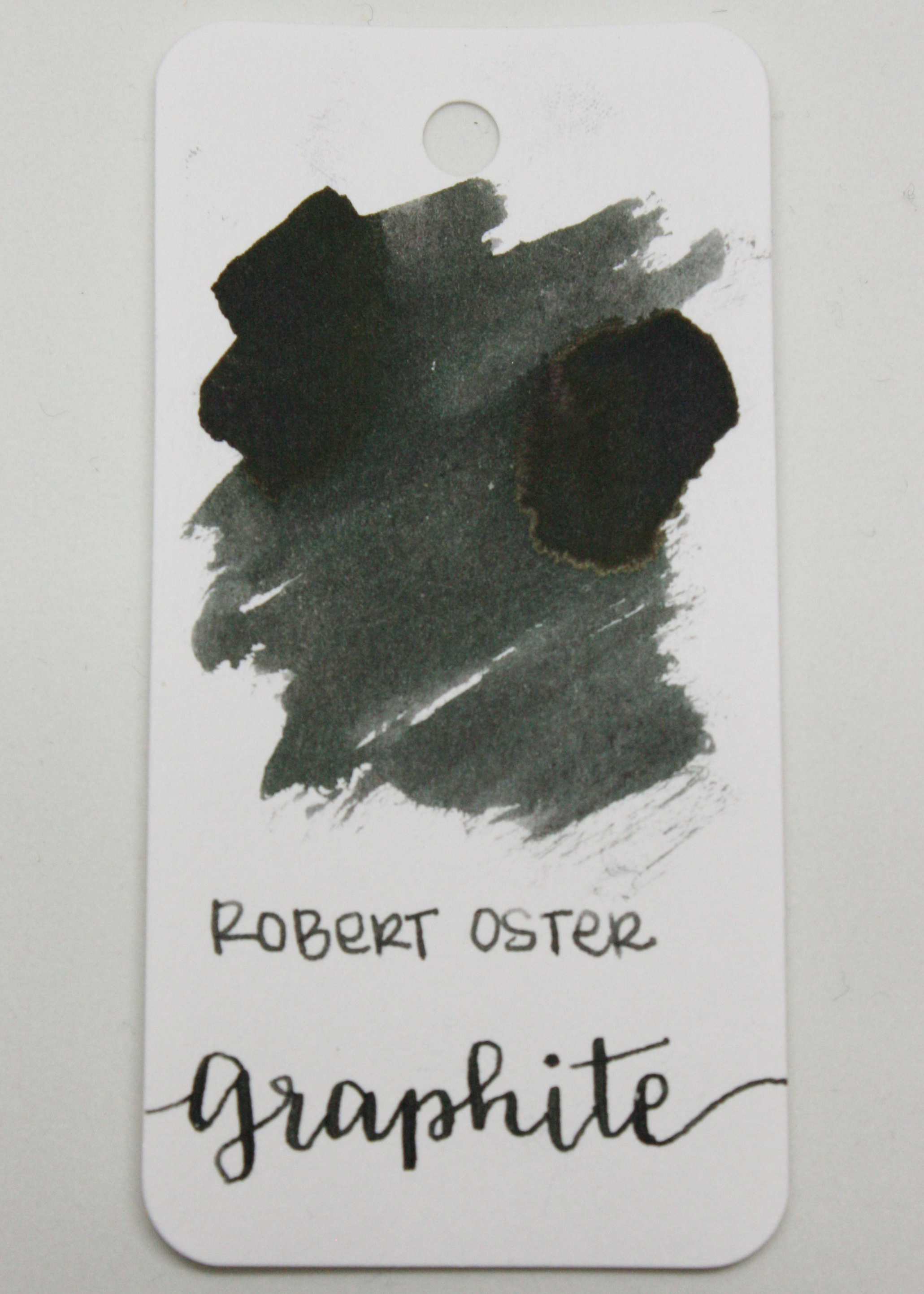 The color... - Graphite is a dark grey with a green undertone. I would call this ink a neutral, and suitable for the office.