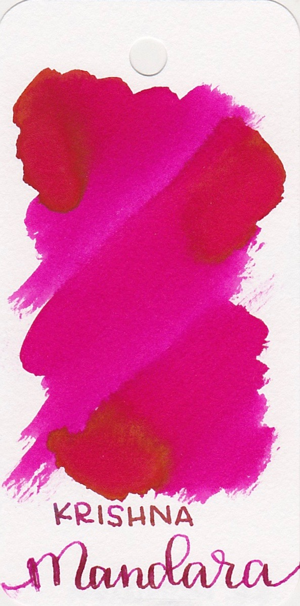 The color... - Mandara is a bright pink.