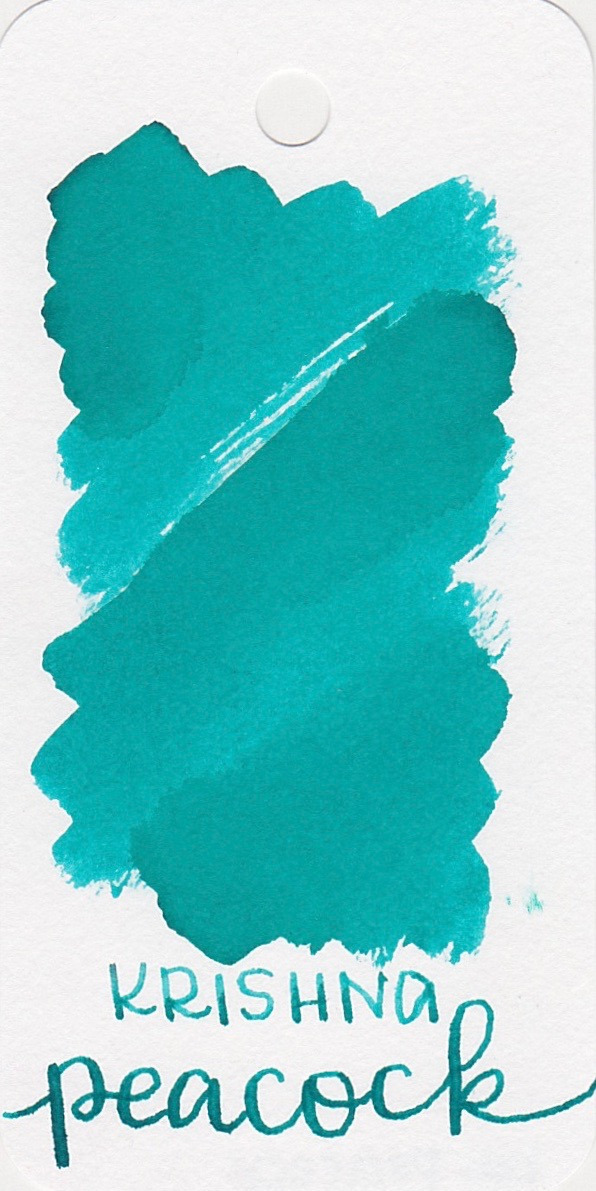 The color... - Peacock is a really pretty light teal.