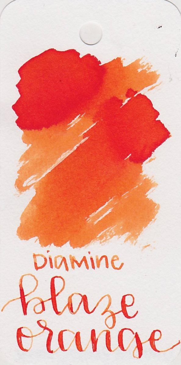 The color... - Blaze orange is a medium orange with a little bit of shading.