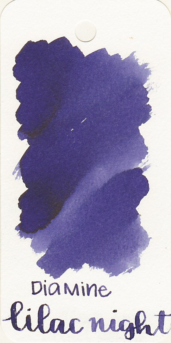 The color... - Lilac Night is a dark purple with shading. It doesn't quite look like lilac to me, but it is a nice purple.