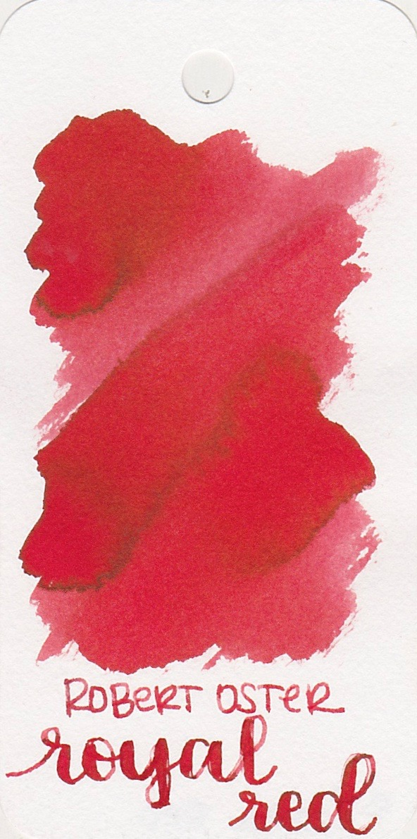 The color... - Royal Red is a light red with medium saturation.