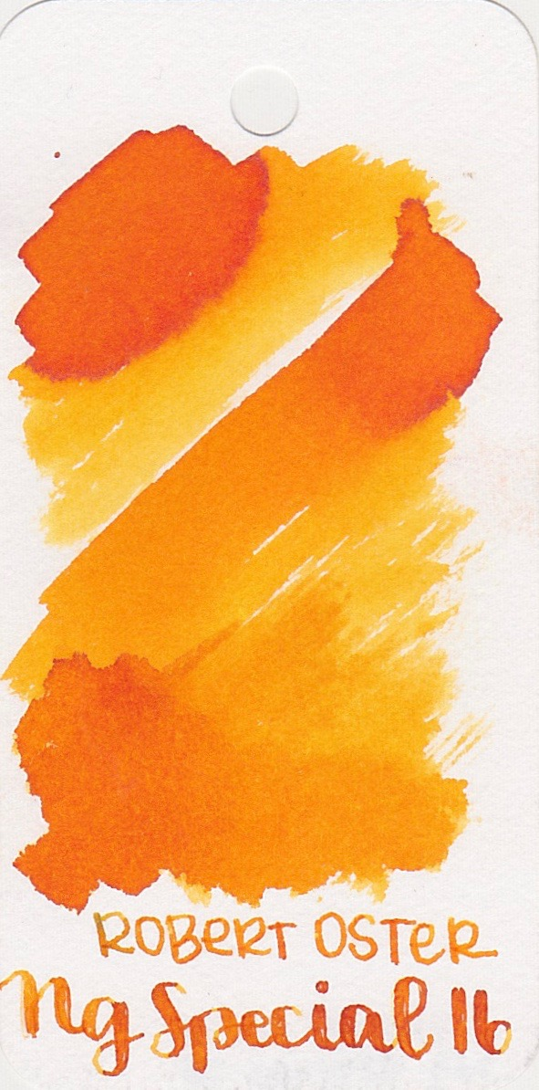 The color... - Ng Special 16 is a bright, light orange with shading.