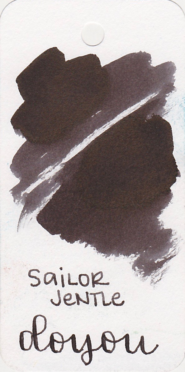 The color... - Doyou is a very dark brown, bordering on black. This ink is supposed to be a summer brown, but it says fall to me more than summer. I don't really think of dark browns when I think of summer colors, but maybe that's just me.