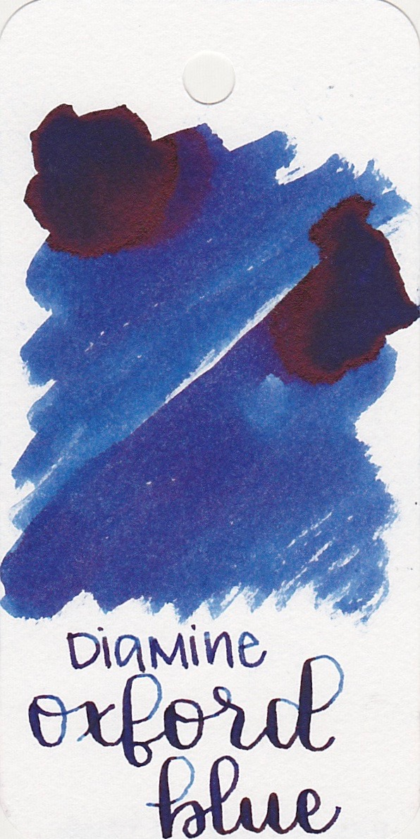 The color... - Oxford Blue is a medium blue with some amazing pink sheen.