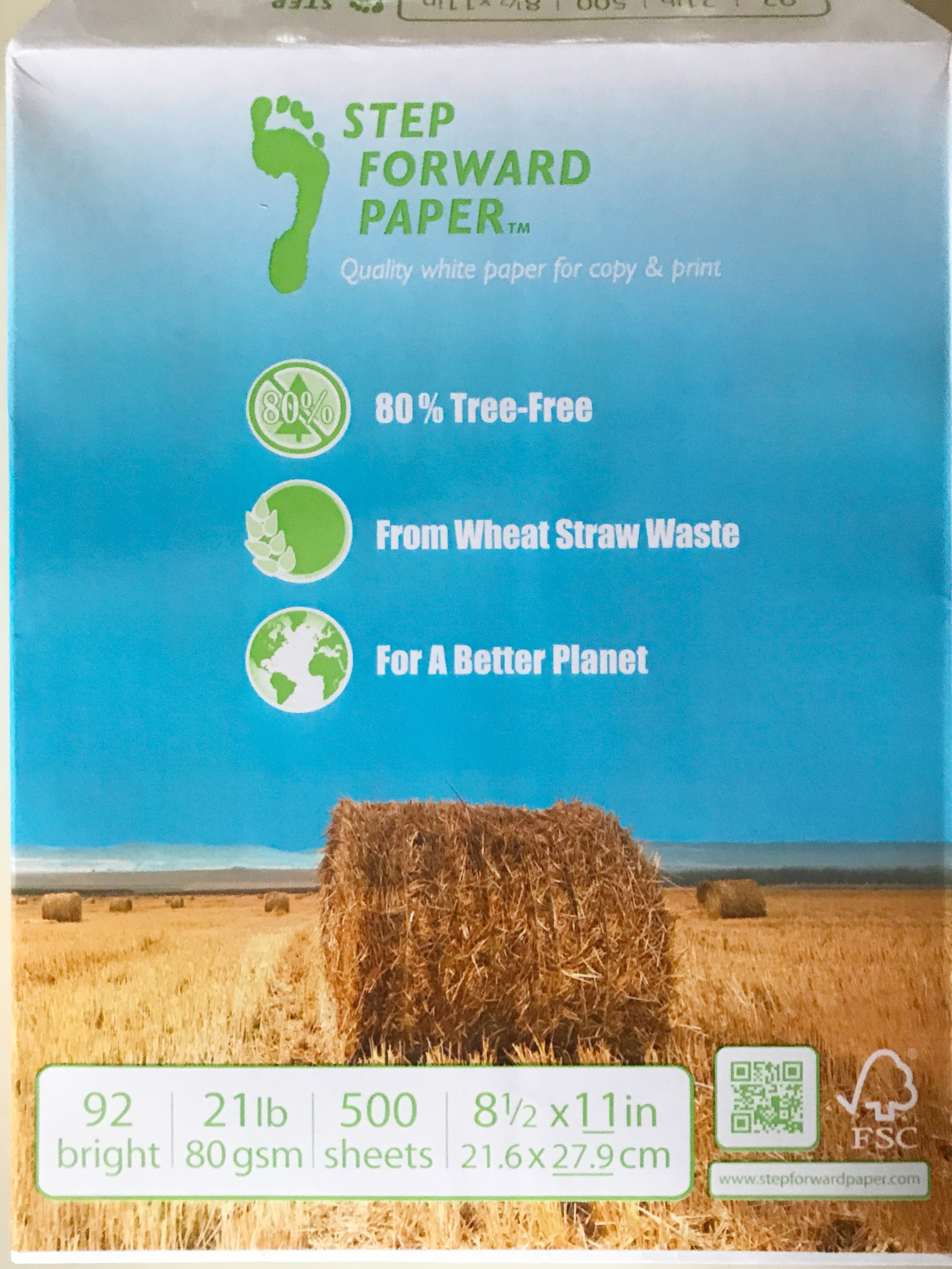Step ForwardPaper: - This paper is only sold online by Staples. You can find it at here at staples.com.