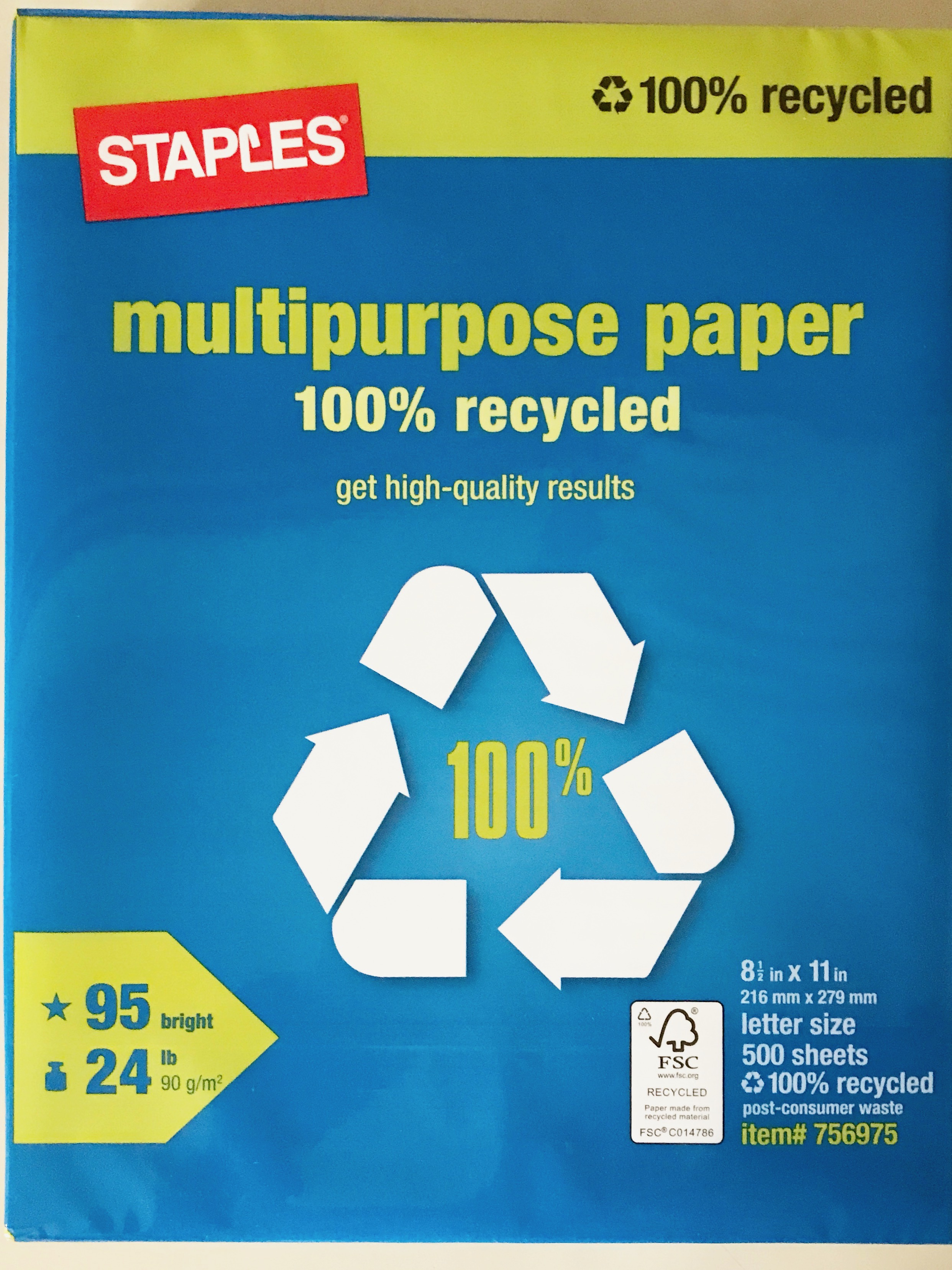 Staples Multipurpose Paper: - You can find this paper here at staples.com.