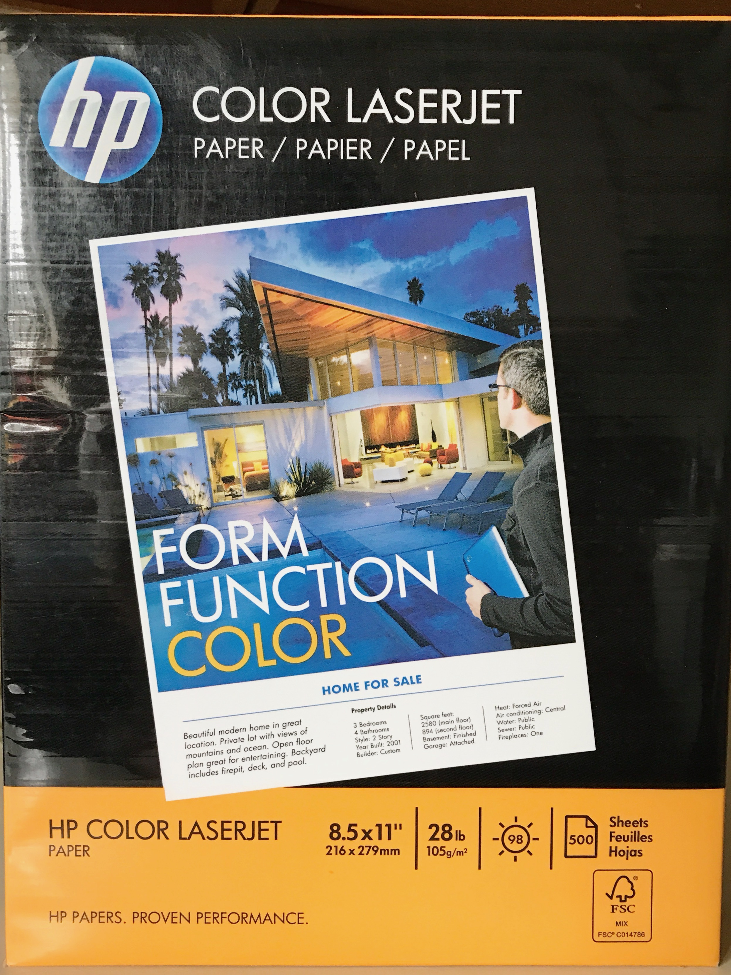 HP Laserjet28 - This paper can be found on amazon.com, but is no longer being produced as far as I know.