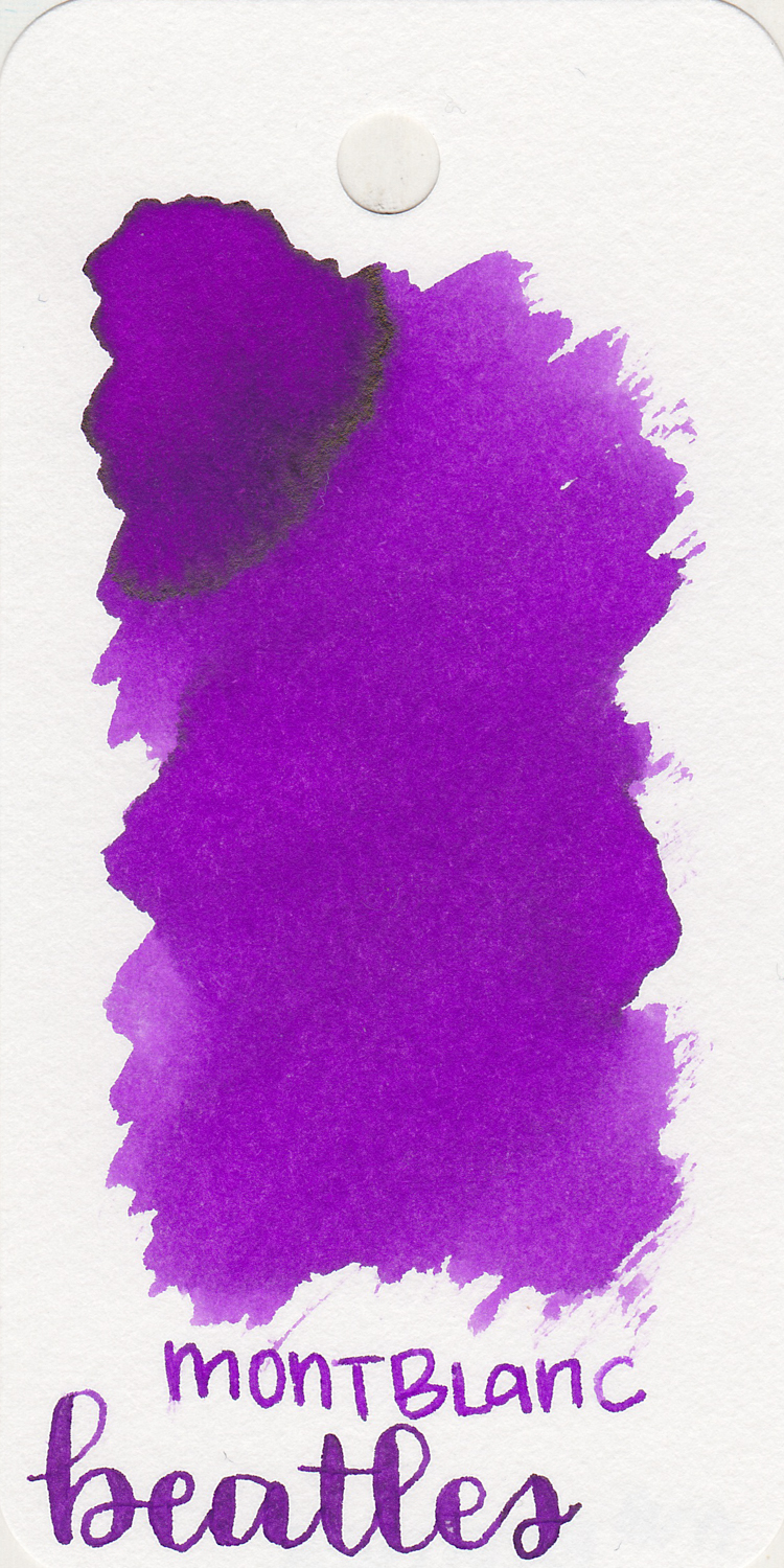 The color: - Beatles is a medium bright purple with some gold sheen. I think this is a good summery purple.
