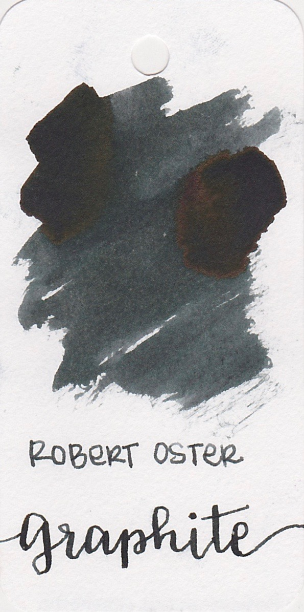 Robert Oster Graphite - I love this grey.I have a thing for grey inks in general, but I really like this one.