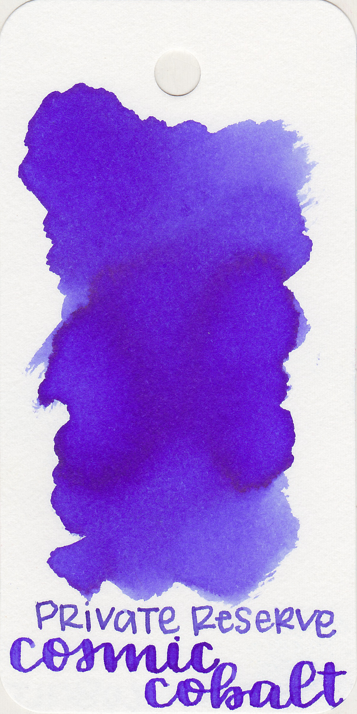 The color: - Cosmic Cobalt is a blue that is almost purple. It's in that blue-violet area in-between the two colors.