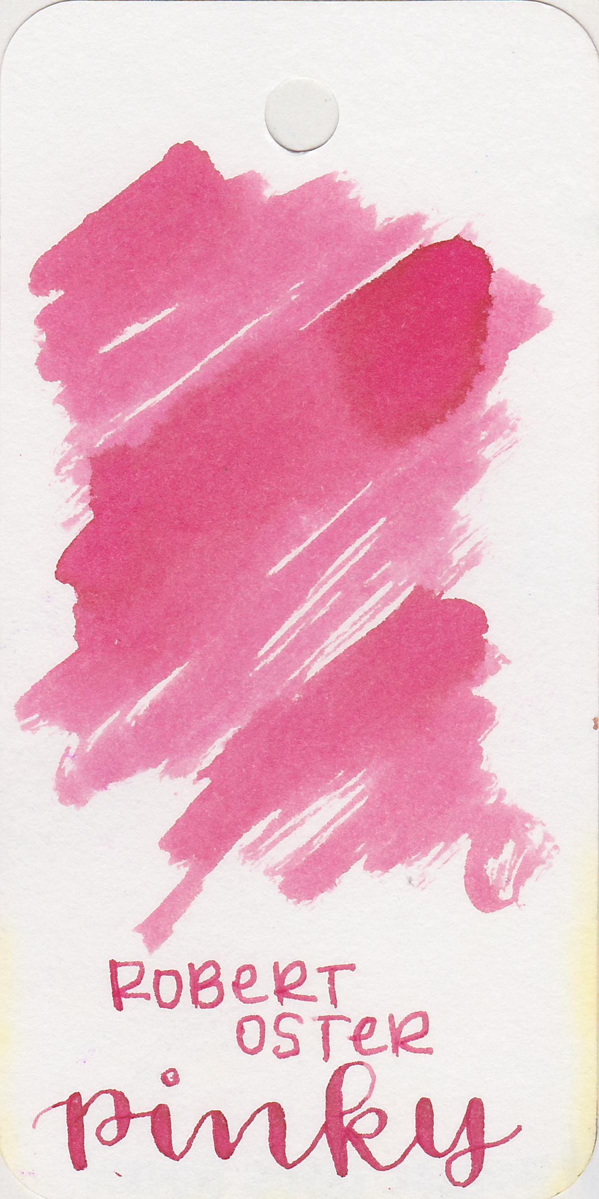 The color: - Pinky is a light pink with shading. It's a perfect ink for spring.