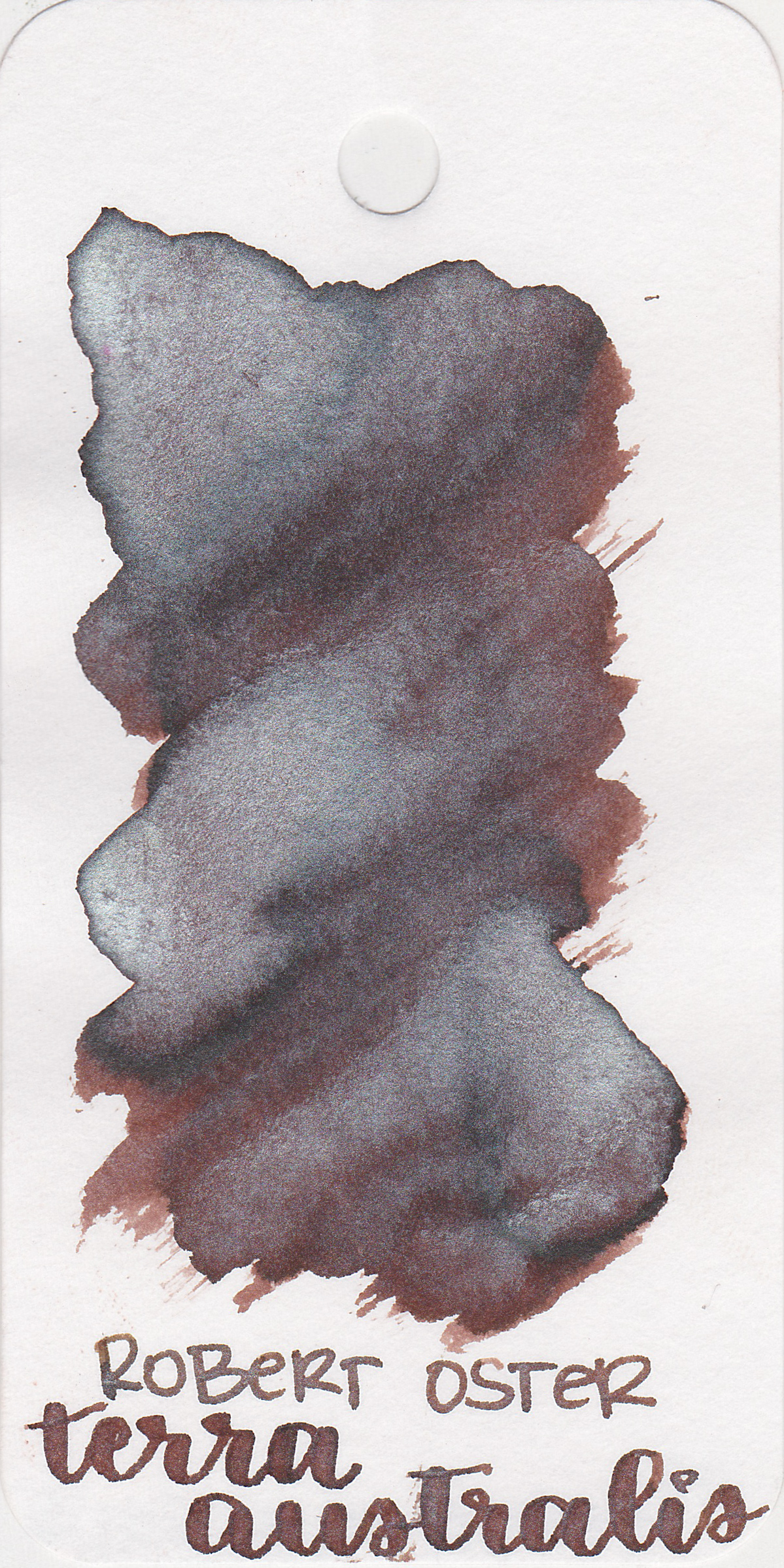 The color: - Terra Australis is a dark brown with lots of shimmer.